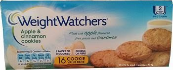 Weight Watchers apple and cinnamon cookies