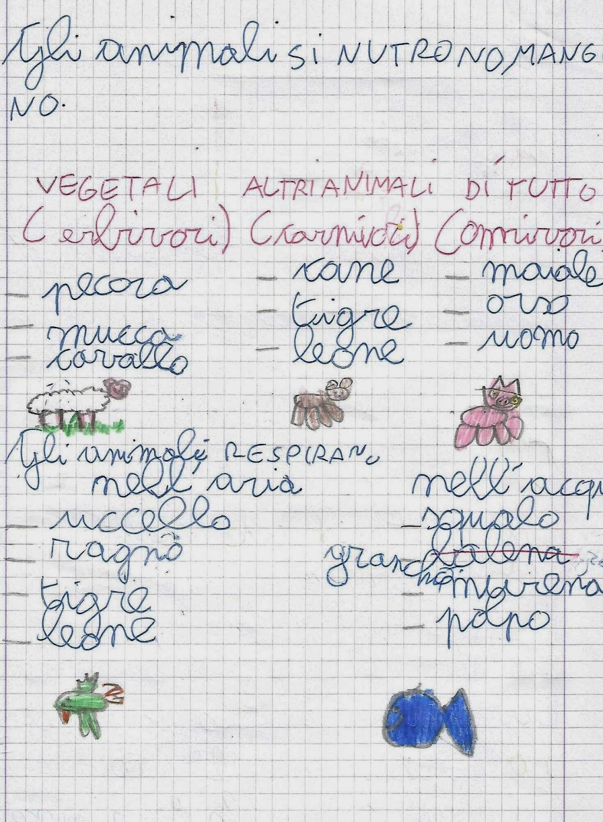 Popolare Scienze: classe seconda scuola primaria. Le caratteristiche degli  DO68