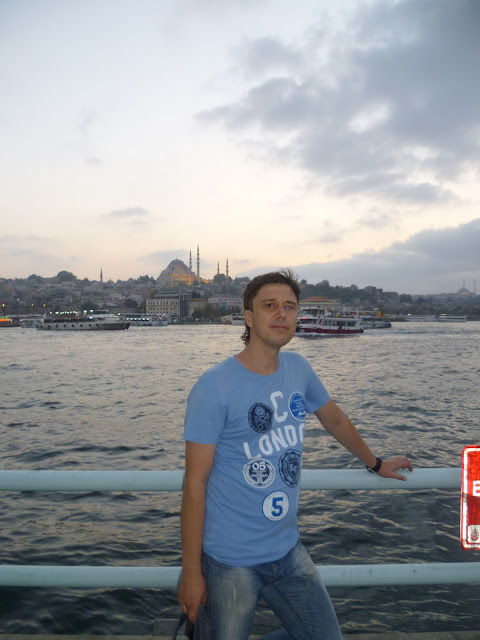 Стамбул, Галатский мост (Istanbul. Galata Bridge)