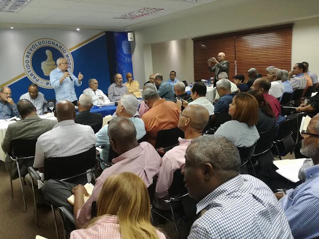 PRM inicia capacitación a personal facilitador de la Convención.