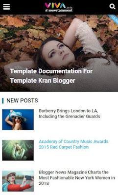 Template Blogger Terbaru 2019 Gratis by Rian SEO