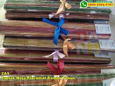Harga Taplak Meja Placemat Bambu Tenun