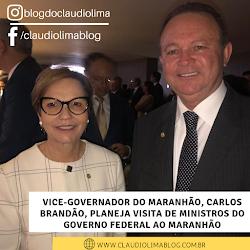 Vice-governador do Maranhão, Carlos Brandão, planeja visita de ministros do governo federal ao Maranhão