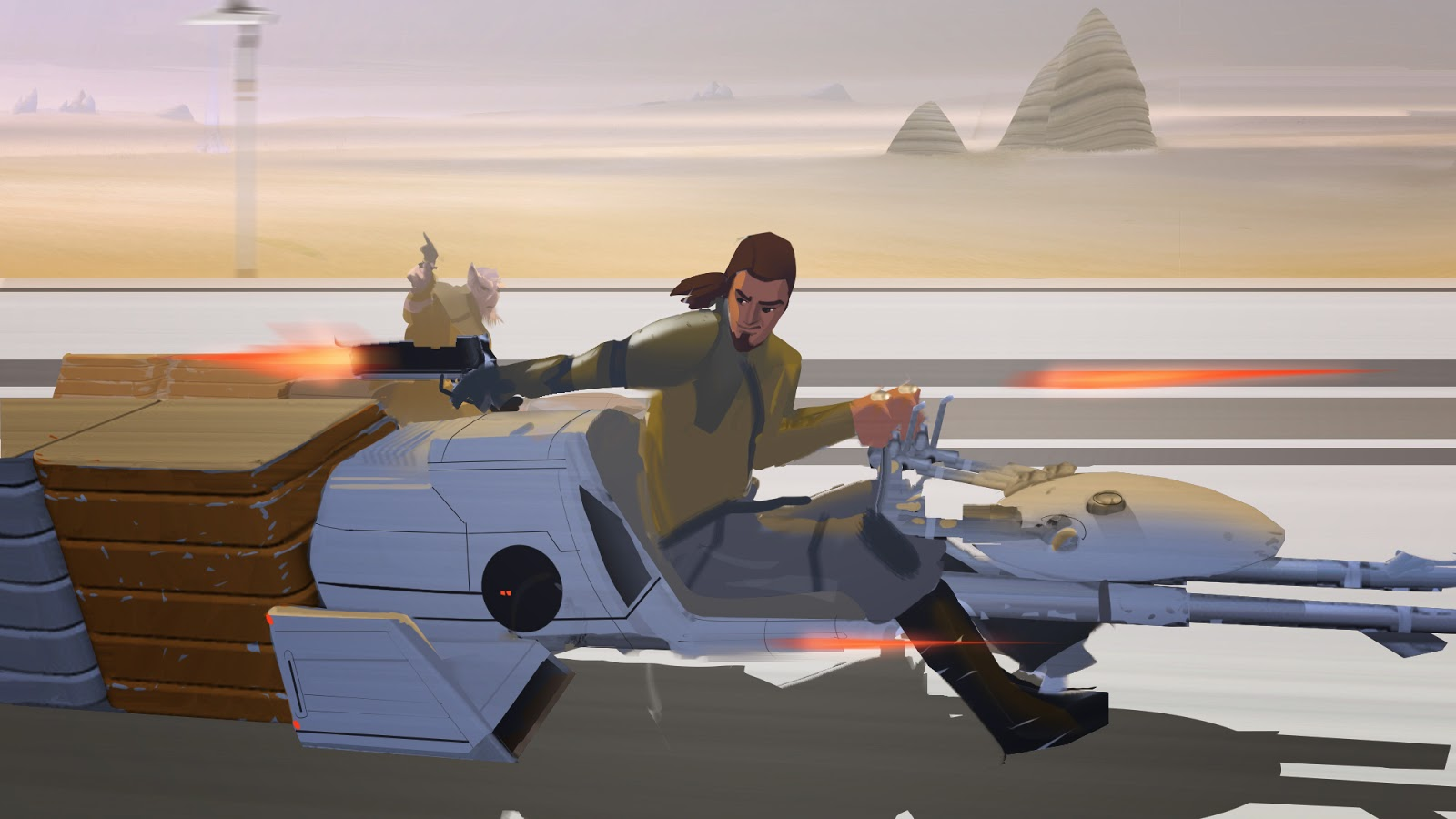 Speeder bike star wars rebels