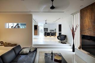 Desain ruang keluarga lesehan - Cheng Soon Lane