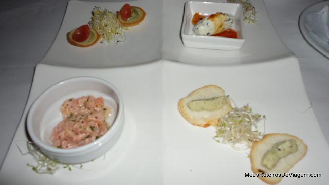 Couvert no Restaurante Rara Avis - Montevidéu, Uruguai