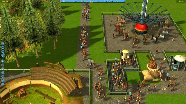 RollerCoaster Tycoon 3 PC Games Gameplay