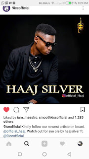 GIST: 9ice Signs Sensational Haaj Silver To His Alapomeji Record Label