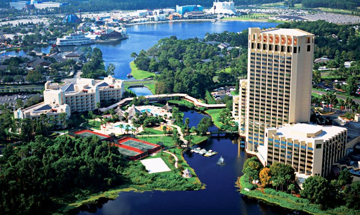 Downtown Orlando Hotels Map