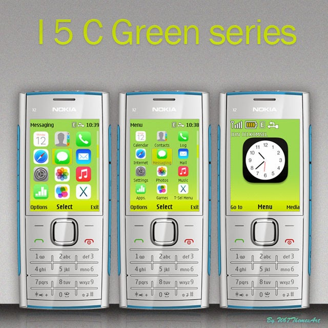 I5 C Green free theme asha 206, asha 207 asha 208 asaha 301