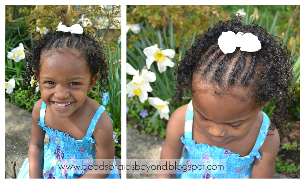 Outstanding Beads Braids And Beyond Natural Hair Styles For Little Girls Short Hairstyles Gunalazisus