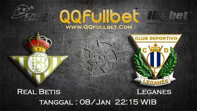 PREDIKSIBOLA - Prediksi Taruhan Bola Real Betis vs Leganes 08 Januari 2017 (La Liga Spanyol)