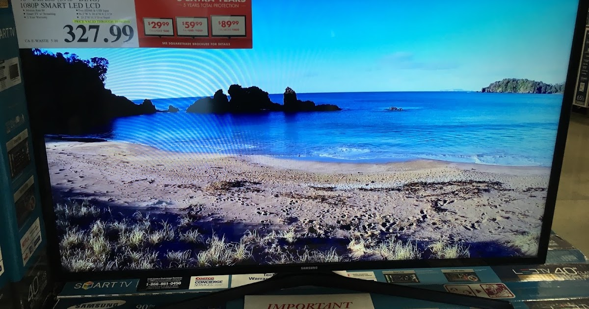 Samsung Un40j520d 40 Quot 1080p Smart Led Lcd Tv Costco