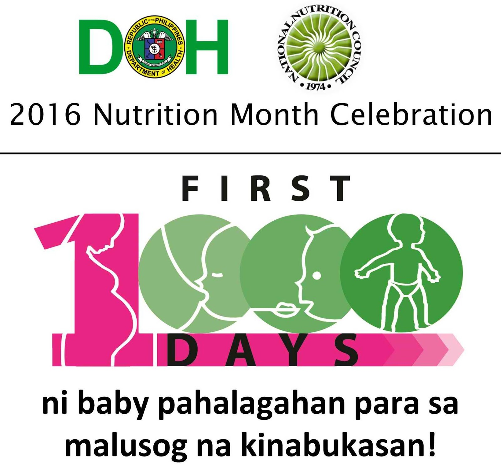 philippines nutrion month theme The nutrition month theme in 2018 is ugaliing magtanim, sapat na nutrisyon aanihin according to the national nutrition council (nnc) of the philippines this theme focuses on food production at home through the family's own garden.