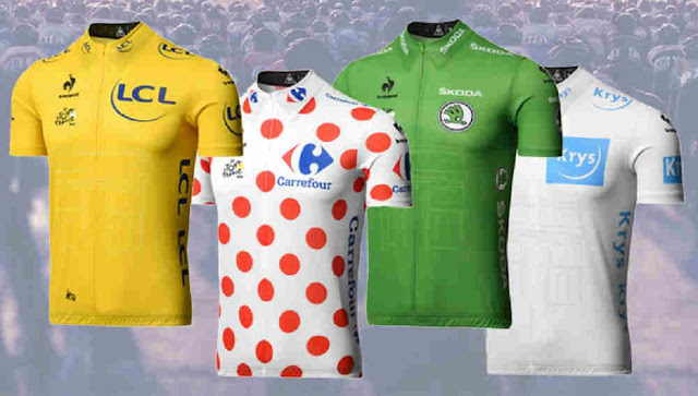 TDF Leaders Jersey 2016