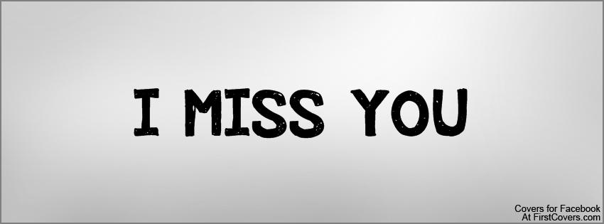 Ảnh bìa I Miss You, ảnh bìa facebook I Miss You cực đẹp