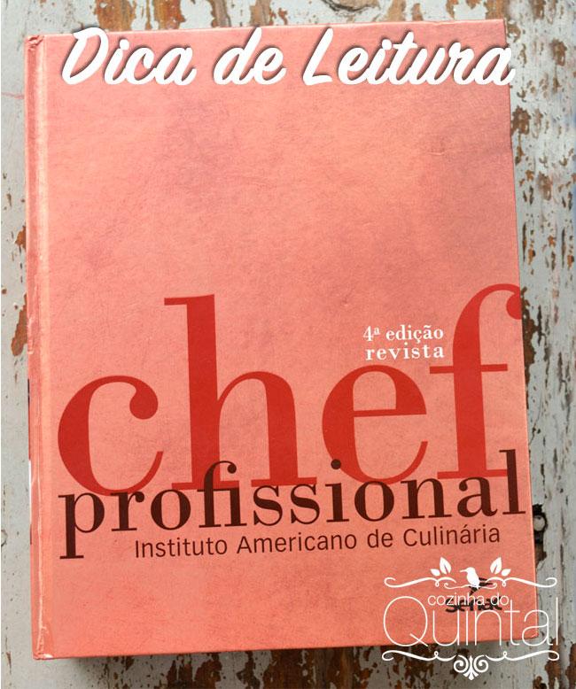 O Livro do Chef na Cozinha do Quintal