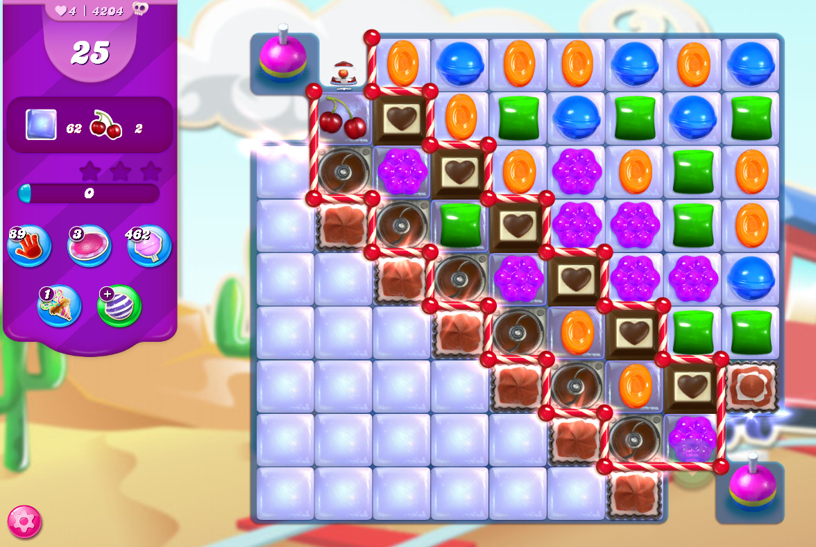 Candy Crush Saga level 4204