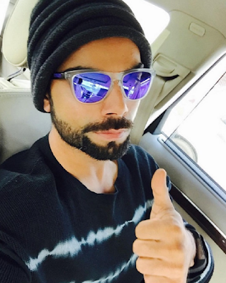 Virat Kohli with sunglasses