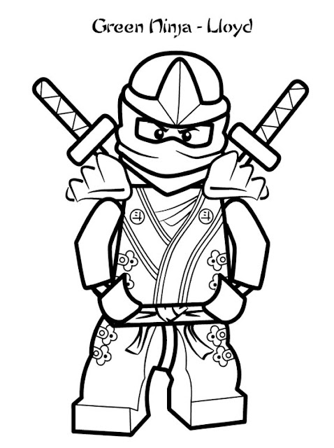 coloring pages ninjas cartoon - photo#7