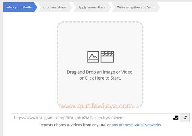 Cara Mudah Upload Foto dan Video Instagram Di PC