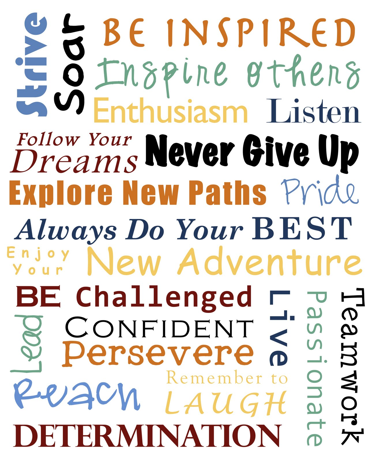 Personalized Graduation Word-Art Canvas | GiftsForYouNow  |Word Art For Graduation