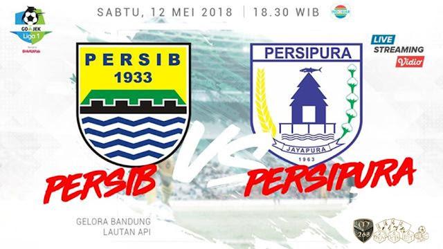 Prediksi Persib Bandung Vs Persipura Jayapura, Sabtu 12 Mei 2018 Pukul 18.30 WIB @ Indosiar