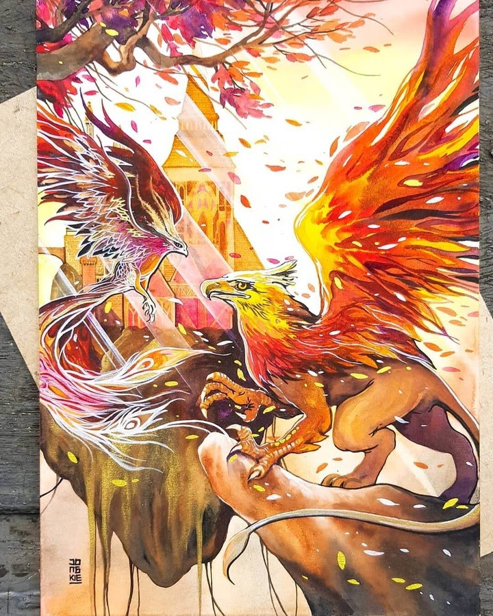 11-Phoenix-Griffin-LR-Mulyono-Watercolor-Paintings-www-designstack-co
