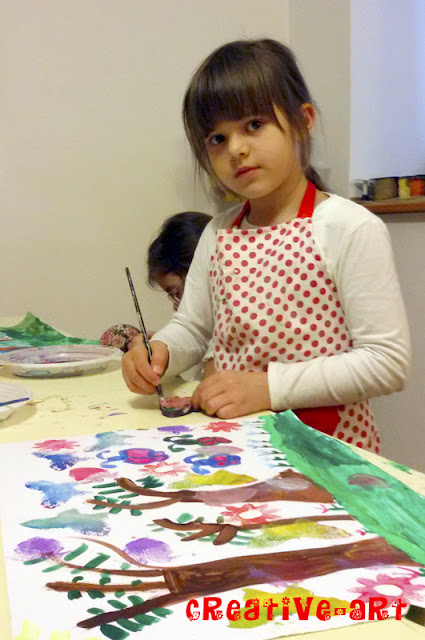 Atelier pictura in acrilice