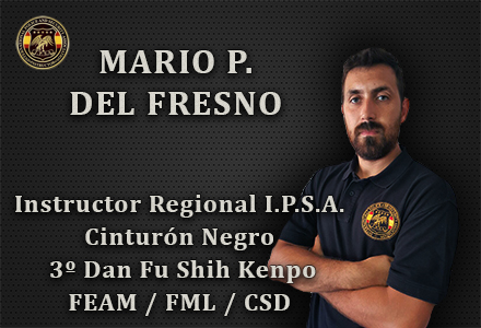MARIO P DEL FRESNO INSTRUCTOR REGIONAL IPSA INTERNATIONAL POLICE AND SECURITY ASOCCIATION IPSA