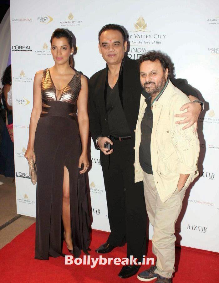 Mugdha Godse, Anil Sharma, Hot Celebs at India Bridal Fashion Week 2013