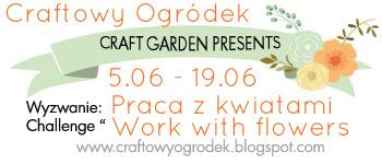 Wyzwanie: Praca z kwiatami | Challenge: work with flowers