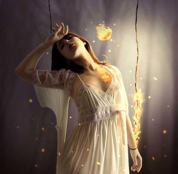 Create the Emotional Photo Manipulation Firing Heart