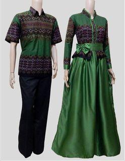 Model Baju Batik Couple Untuk Orang Gemuk