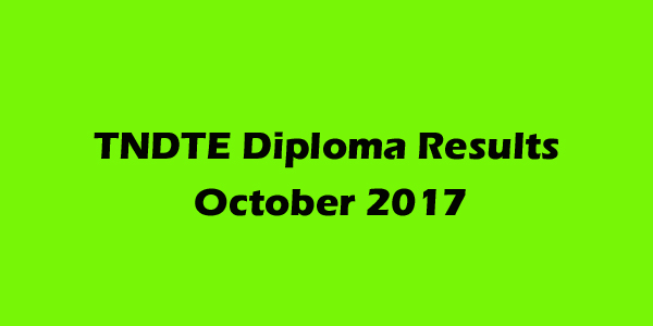 DOTE Diploma Results October 2017