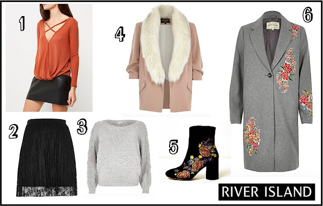 River Island Autumn/Winter 2016 Wishlist