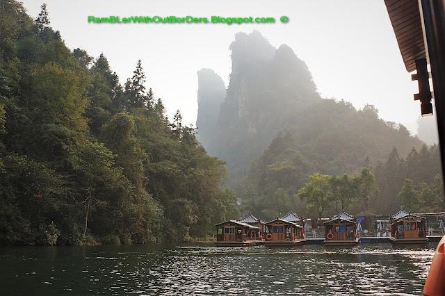 Berths, Baofeng Lake, Zhangjiajie, Hunan, China
