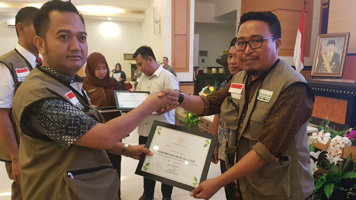 IWO Sulbar Dapat Award Media Partnership Dari CSR
