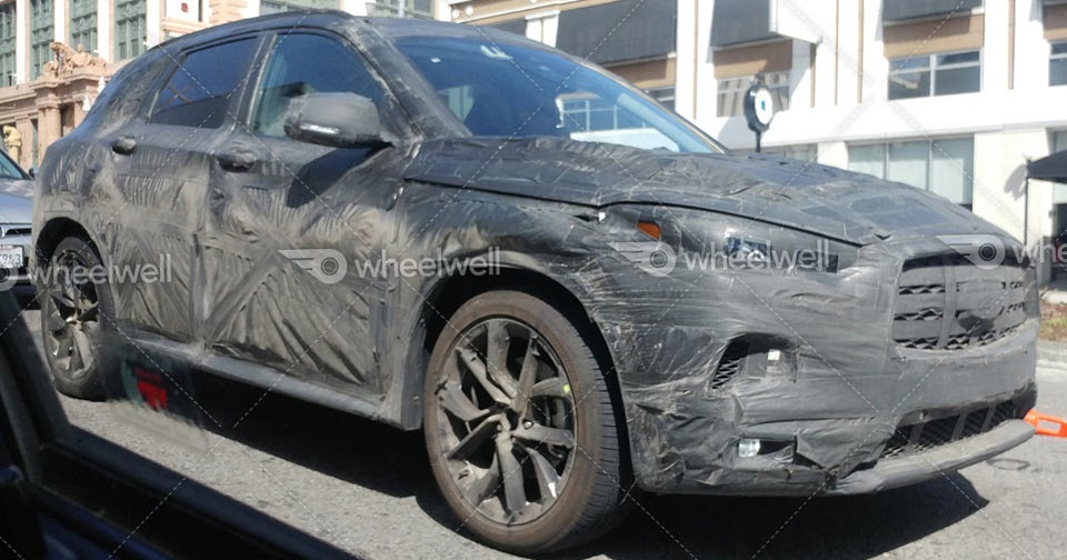 2018 infiniti qx50 spotted shifting from concept to production. Black Bedroom Furniture Sets. Home Design Ideas