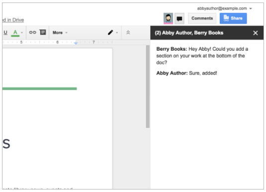 G Suite Updates Blog Upcoming Changes To Chat In Google Docs