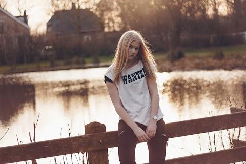 Fotoshoot: Bij het meer