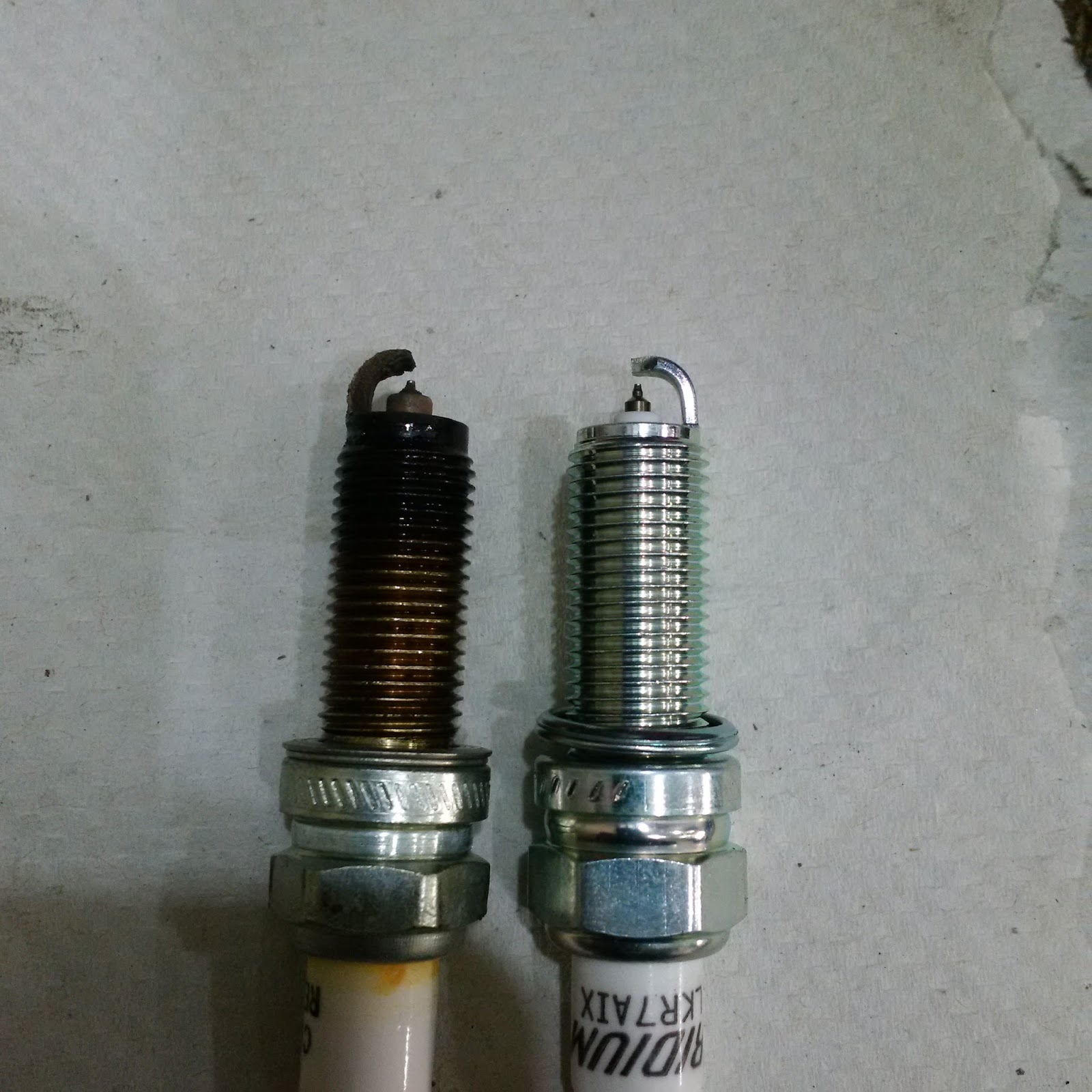 Another Day Another Project Changing Spark Plugs On My