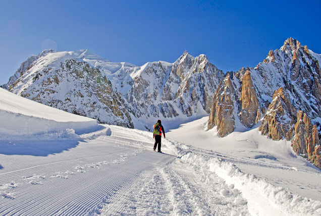 REFUGIUL TORINO MONT BLANC ALPI ITALIA