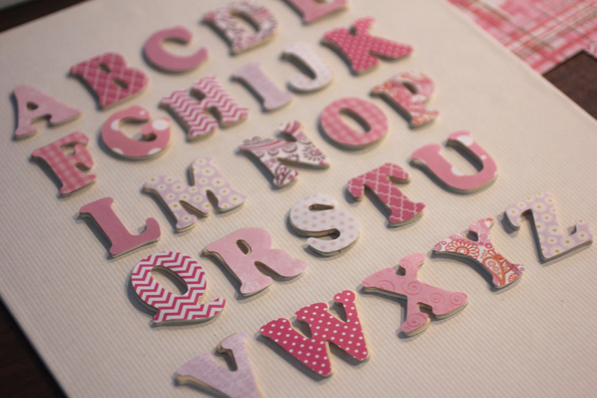alphabet wall art take 2
