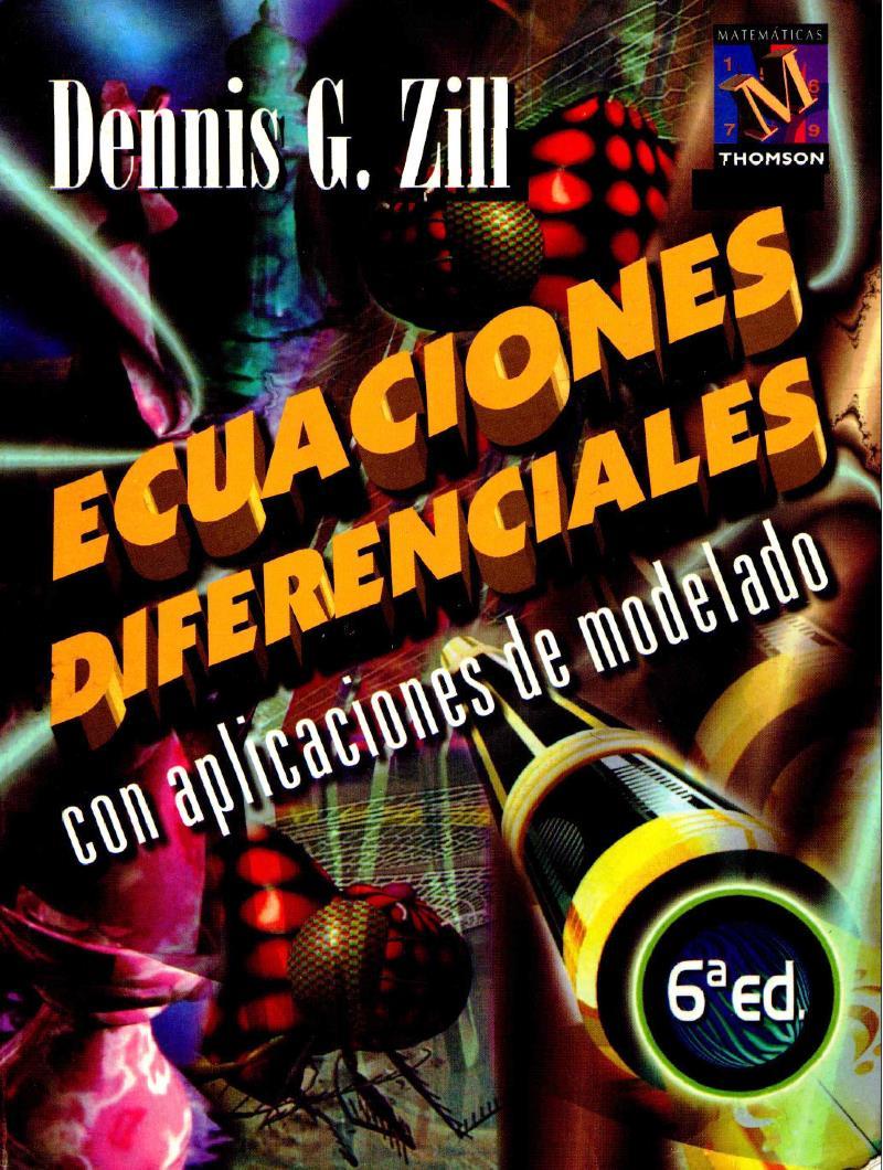 Ecuaciones Diferenciales, 6ta Edición – Dennis G. Zill
