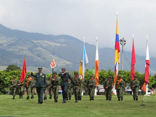 Nuevo comandante del Batallón de Comunicaciones de Facatativá