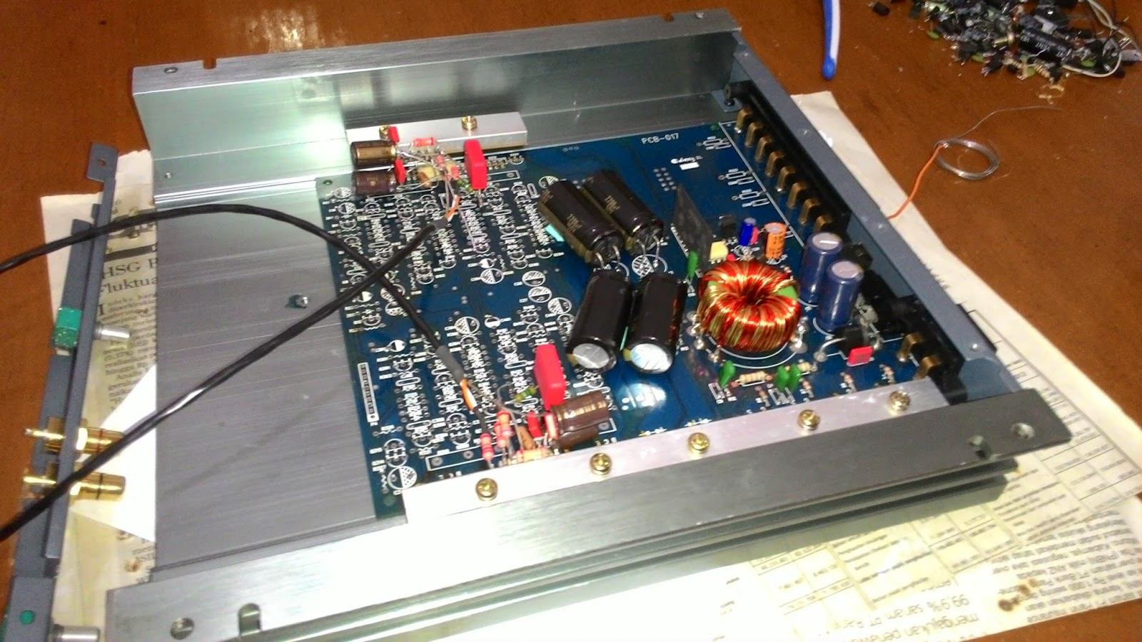 The Orronoco Audio Diy  Gainclone Amplifier On My Car