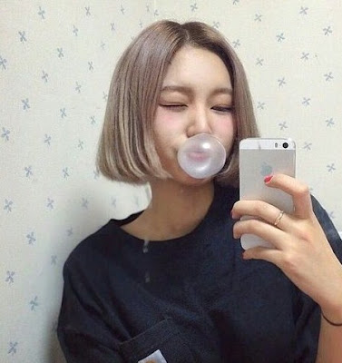 gaya rambut pendek wanita terbaru 04