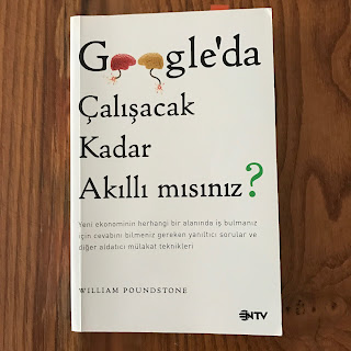 Google'da Calisacak Kadar Akilli Misiniz