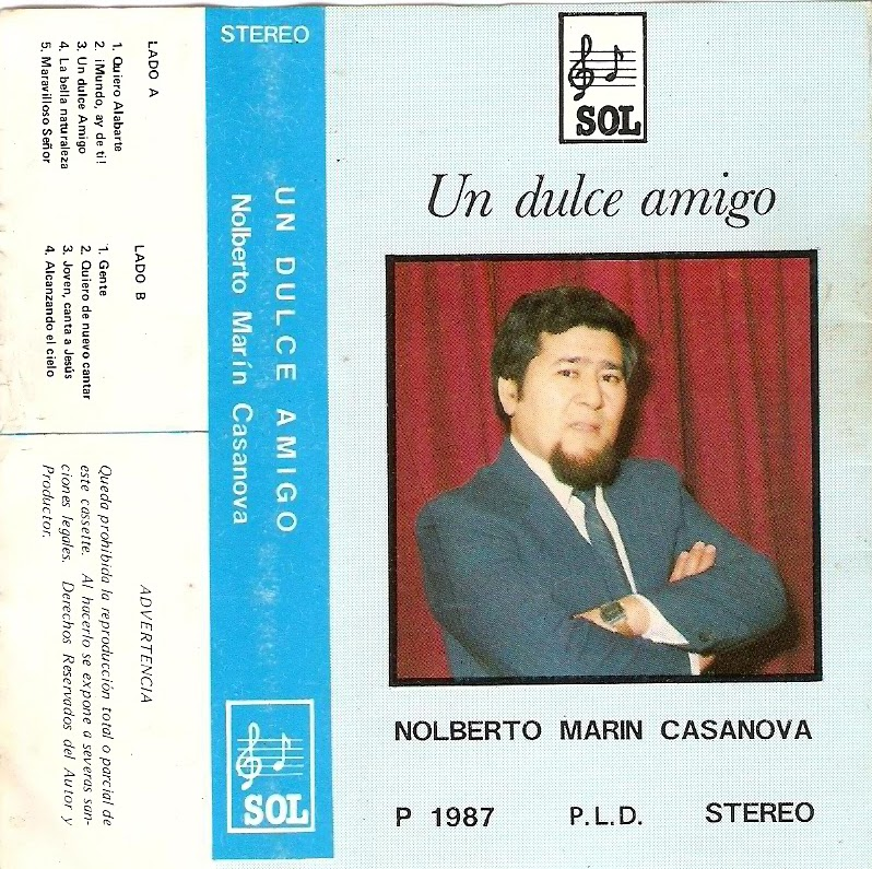 Nolberto Marin Casanova-Un Dulce Amigo-
